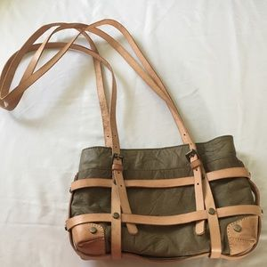 Free People Stockton strappy leather  bag